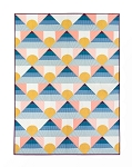 Mountain Horizon Quilt Pattern<br>by Lo & Behold Stitchery