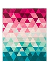 Triangle Fade Quilt Pattern<br>by Lo & Behold Stitchery