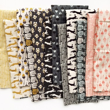 In the Woods Fat Quarter Bundle