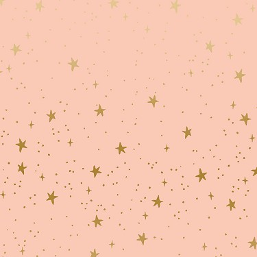 Stars in Blush Metallic