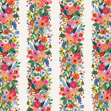 Garden Party Vines in Pink | Rayon