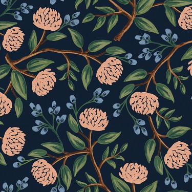 Peonies in Blue | Canvas