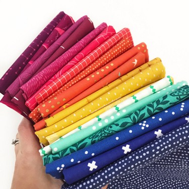 The Brightest Rainbow | Fat Quarter Bundle