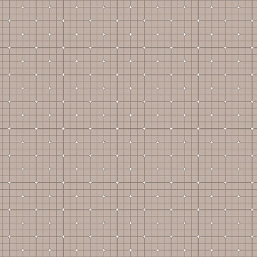 Grid in Taupe