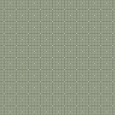 Grid in Olive
