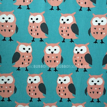 Big Owl in Teal