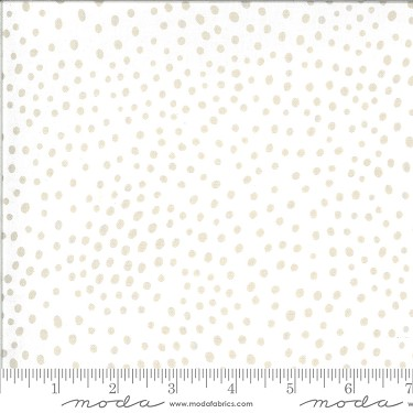 Movement Dots in Ivory Feather