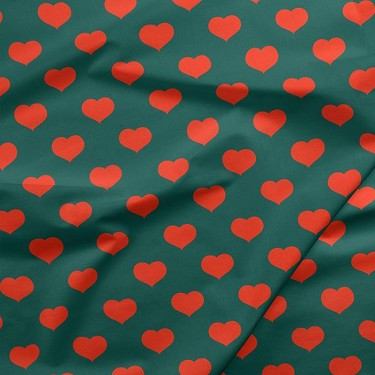 Hearts in Green