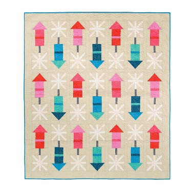 Firecracker Quilt Pattern<br>by Pen and Paper Patterns