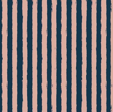 Blush Stripe in Blue