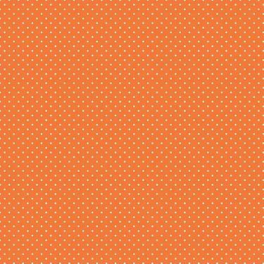 Swiss Dot in Orange