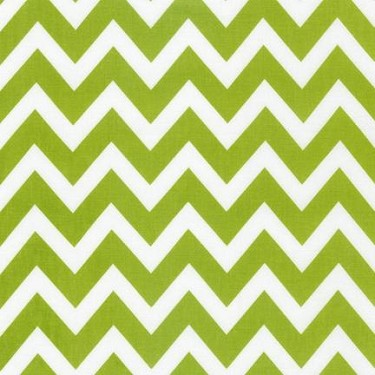 Large Zigzag in Lime