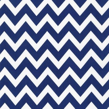 Large Zigzag in Navy