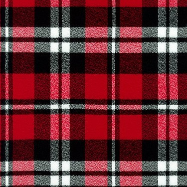 Mammoth Flannel in Red and Black