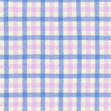 Tri-Tone Gingham in Periwinkle | Flannel