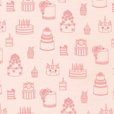 Cake Party in Pink