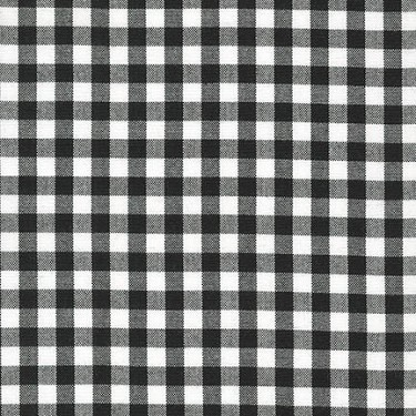 Carolina Gingham 1/4 Inch in Black