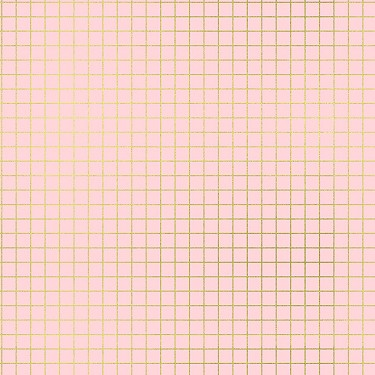 Grid in Pink Gold Metallic